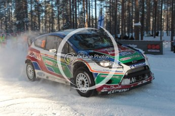 ©  North One Sport Limited 2011/Octane Photographic. 2011 WRC Sweden SS10 Fredericksberg, Saturday 12th February 2011. Digital ref : 0142CB1D7338