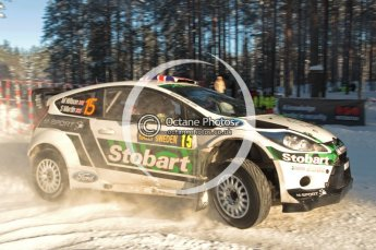 ©  North One Sport Limited 2011/Octane Photographic. 2011 WRC Sweden SS10 Fredericksberg, Saturday 12th February 2011. Digital ref : 0142CB1D7370