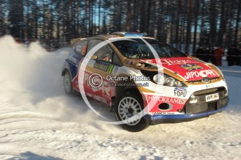 ©  North One Sport Limited 2011/Octane Photographic. 2011 WRC Sweden SS10 Fredericksberg, Saturday 12th February 2011. Digital ref : 0142CB1D7379