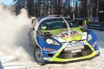 ©  North One Sport Limited 2011/Octane Photographic. 2011 WRC Sweden SS10 Fredericksberg, Saturday 12th February 2011. Digital ref : 0142CB1D7385