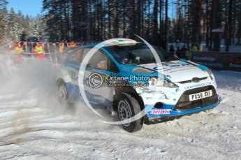 ©  North One Sport Limited 2011/Octane Photographic. 2011 WRC Sweden SS10 Fredericksberg, Saturday 12th February 2011. Digital ref : 0142CB1D7456