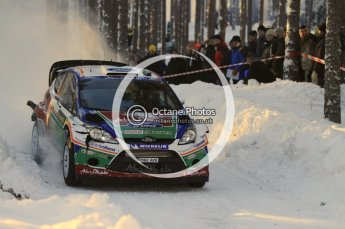 ©  North One Sport Limited 2011/Octane Photographic. 2011 WRC Sweden SS10 Fredericksberg, Saturday 12th February 2011. Digital ref : 0142LW7D8909