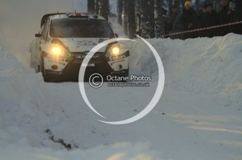 ©  North One Sport Limited 2011/Octane Photographic. 2011 WRC Sweden SS10 Fredericksberg, Saturday 12th February 2011. Digital ref : 0142LW7D8974
