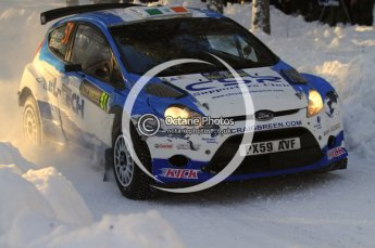 ©  North One Sport Limited 2011/Octane Photographic. 2011 WRC Sweden SS10 Fredericksberg, Saturday 12th February 2011. Digital ref : 0142LW7D9030