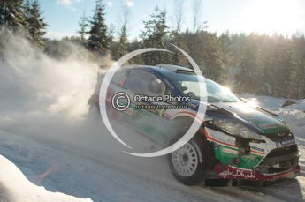 ©  North One Sport Limited 2011/Octane Photographic. 2011 WRC Sweden SS5 Vargassen lI, Friday 11th February 2011. Digital ref : 0141CB1D6974