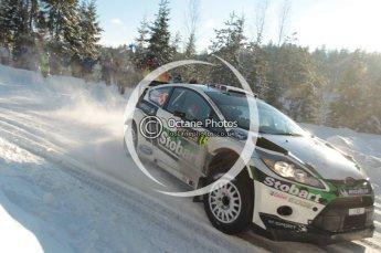 ©  North One Sport Limited 2011/Octane Photographic. 2011 WRC Sweden SS5 Vargassen lI, Friday 11th February 2011. Digital ref : 0141CB1D7013