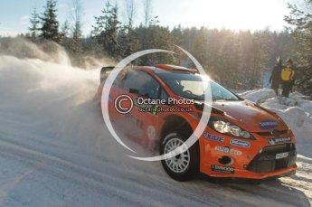 ©  North One Sport Limited 2011/Octane Photographic. 2011 WRC Sweden SS5 Vargassen lI, Friday 11th February 2011. Digital ref : 0141CB1D7026