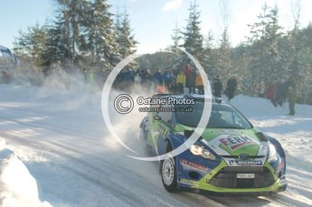 ©  North One Sport Limited 2011/Octane Photographic. 2011 WRC Sweden SS5 Vargassen lI, Friday 11th February 2011. Digital ref : 0141CB1D7095