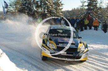 ©  North One Sport Limited 2011/Octane Photographic. 2011 WRC Sweden SS5 Vargassen lI, Friday 11th February 2011. Digital ref : 0141CB1D7107
