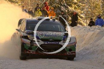 ©  North One Sport Limited 2011/Octane Photographic. 2011 WRC Sweden SS5 Vargassen lI, Friday 11th February 2011. Digital ref : 0141LW7D8751