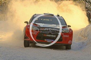 ©  North One Sport Limited 2011/Octane Photographic. 2011 WRC Sweden SS5 Vargassen lI, Friday 11th February 2011. Digital ref : 0141LW7D8757