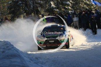 ©  North One Sport Limited 2011/Octane Photographic. 2011 WRC Sweden SS5 Vargassen lI, Friday 11th February 2011. Digital ref : 0141LW7D8767