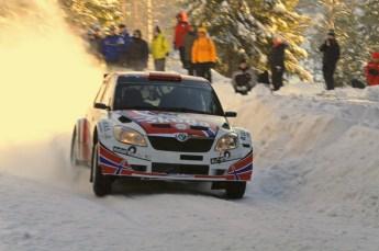 ©  North One Sport Limited 2011/Octane Photographic. 2011 WRC Sweden SS5 Vargassen lI, Friday 11th February 2011. Digital ref : 0141LW7D8840