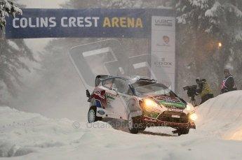 © North One Sport Ltd.2011/ Octane Photographic Ltd.2011. WRC Sweden SS2 Vargassen l (Colin's Crest), Friday 11th February 2011. Digital ref : 0140CB1D6822