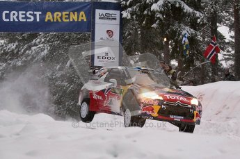© North One Sport Ltd.2011/ Octane Photographic Ltd.2011. WRC Sweden SS2 Vargassen l (Colin's Crest), Friday 11th February 2011. Digital ref : 0140CB1D6834
