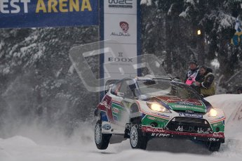© North One Sport Ltd.2011/ Octane Photographic Ltd.2011. WRC Sweden SS2 Vargassen l (Colin's Crest), Friday 11th February 2011. Digital ref : 0140CB1D6863