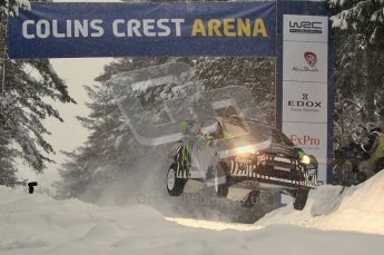 © North One Sport Ltd.2011/ Octane Photographic Ltd.2011. WRC Sweden SS2 Vargassen l (Colin's Crest), Friday 11th February 2011. Digital ref : 0140CB1D6885
