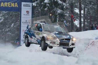 © North One Sport Ltd.2011/ Octane Photographic Ltd.2011. WRC Sweden SS2 Vargassen l (Colin's Crest), Friday 11th February 2011. Digital ref : 0140CB1D6910