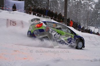 © North One Sport Ltd.2011/ Octane Photographic Ltd.2011. WRC Sweden SS2 Vargassen l (Colin's Crest), Friday 11th February 2011. Digital ref : 0140LW7D8664