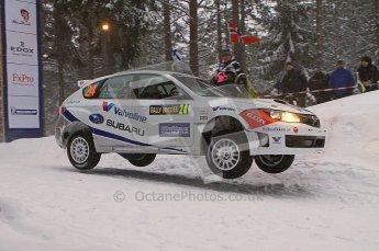 © North One Sport Ltd.2011/ Octane Photographic Ltd.2011. WRC Sweden SS2 Vargassen l (Colin's Crest), Friday 11th February 2011. Digital ref : 0140LW7D8672