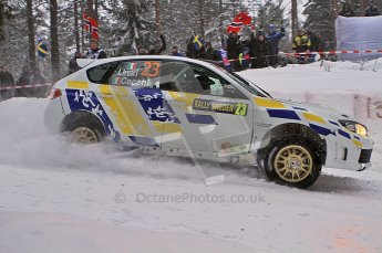 © North One Sport Ltd.2011/ Octane Photographic Ltd.2011. WRC Sweden SS2 Vargassen l (Colin's Crest), Friday 11th February 2011. Digital ref : 0140LW7D8678