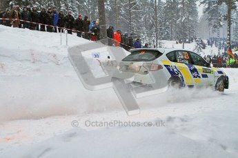 © North One Sport Ltd.2011/ Octane Photographic Ltd.2011. WRC Sweden SS2 Vargassen l (Colin's Crest), Friday 11th February 2011. Digital ref : 0140LW7D8679