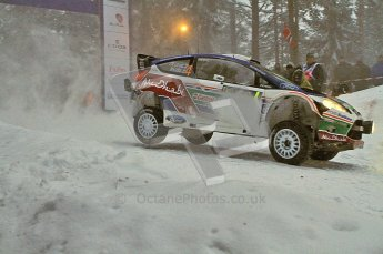 © North One Sport Ltd.2011/ Octane Photographic Ltd.2011. WRC Sweden SS2 Vargassen l (Colin's Crest), Friday 11th February 2011. Digital ref : 0140LW7D8612