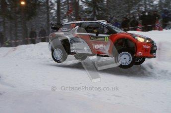 © North One Sport Ltd.2011/ Octane Photographic Ltd.2011. WRC Sweden SS2 Vargassen l (Colin's Crest), Friday 11th February 2011. Digital ref : 0140LW7D8617