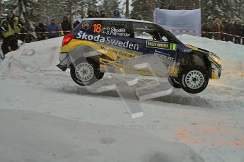 © North One Sport Ltd.2011/ Octane Photographic Ltd.2011. WRC Sweden SS2 Vargassen l (Colin's Crest), Friday 11th February 2011. Digital ref : 0140LW7D8655