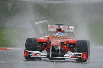 World © Octane Photographic 2011.  Formula 1 testing Saturday 12th March 2011 Circuit de Catalunya. Ferrari 150° Italia - Fernando Alonso. Digital ref : 0018CB1D4343