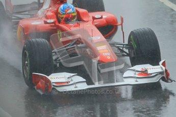 World © Octane Photographic 2011. Formula 1 testing Saturday 12th March 2011 Circuit de Catalunya. Ferrari 150° Italia - Fernando Alonso. Digital ref : 0018CB1D4421