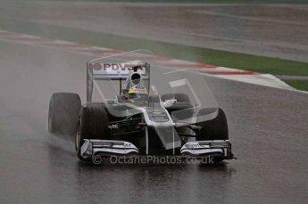World © Octane Photographic 2011.  Formula 1 testing Saturday 12th March 2011 Circuit de Catalunya. Williams FW33 - Pastor Maldonado. Digital ref : 0018LW7D5758