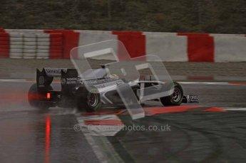 World © Octane Photographic 2011.  Formula 1 testing Saturday 12th March 2011 Circuit de Catalunya. Williams FW33 - Pastor Maldonado. Digital ref : 0018LW7D5773