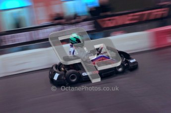 © Octane Photographic Ltd. 2012. Autosport International 2012 Celebrity Karting for the Race To Recovery charity. 12th January 2012. Digital Ref : 0206cb1d0521