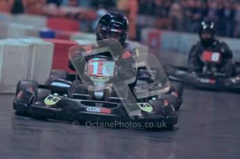 © Octane Photographic Ltd. 2012. Autosport International 2012 Celebrity Karting for the Race To Recovery charity. 12th January 2012. Digital Ref : 0206cb1d1133