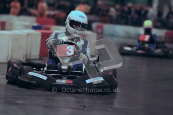 © Octane Photographic Ltd. 2012. Autosport International 2012 Celebrity Karting for the Race To Recovery charity. 12th January 2012. Digital Ref : 0206cb1d1143