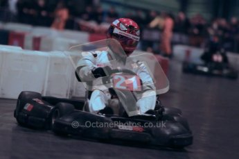 © Octane Photographic Ltd. 2012. Autosport International 2012 Celebrity Karting for the Race To Recovery charity. 12th January 2012. Digital Ref : 0206cb1d1221