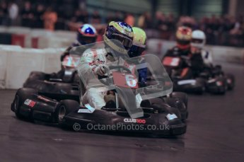 © Octane Photographic Ltd. 2012. Autosport International 2012 Celebrity Karting for the Race To Recovery charity. 12th January 2012. Digital Ref : 0206cb1d1233