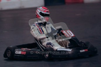 © Octane Photographic Ltd. 2012. Autosport International 2012 Celebrity Karting for the Race To Recovery charity. 12th January 2012. Digital Ref : 0206cb1d1324