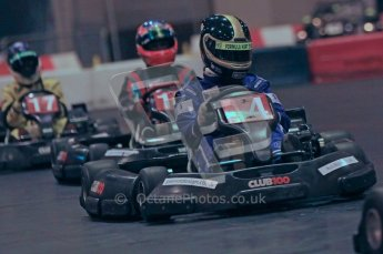 © Octane Photographic Ltd. 2012. Autosport International 2012 Celebrity Karting for the Race To Recovery charity. 12th January 2012. Digital Ref : 0206cb1d1481