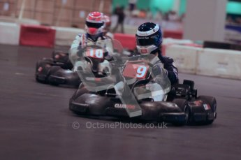 © Octane Photographic Ltd. 2012. Autosport International 2012 Celebrity Karting for the Race To Recovery charity. 12th January 2012. Digital Ref : 0206cb1d1550