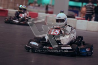 © Octane Photographic Ltd. 2012. Autosport International 2012 Celebrity Karting for the Race To Recovery charity. 12th January 2012. Digital Ref : 0206cb1d1556