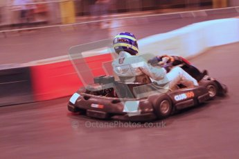 © Octane Photographic Ltd. 2012. Autosport International 2012 Celebrity Karting for the Race To Recovery charity. 12th January 2012. Digital Ref : 0206LW7D1714
