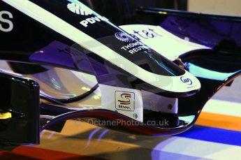 © Octane Photographic Ltd. 2012. Autosport International F1 Cars Old and New. Senna S on the Williams show car. Digital Ref : 0207cb1d0762