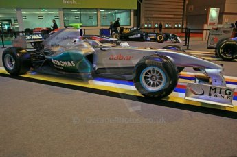 © Octane Photographic Ltd. 2012. Autosport International F1 Cars Old and New. Mercedes show car. Digital Ref : 0207cb7d1837