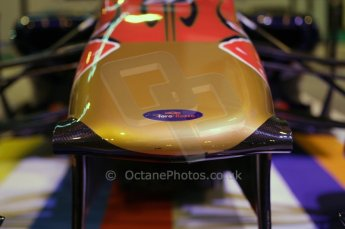 © Octane Photographic Ltd. 2012. Autosport International F1 Cars Old and New. Torro Roso show car nose. Digital Ref : 0207lw7d2434