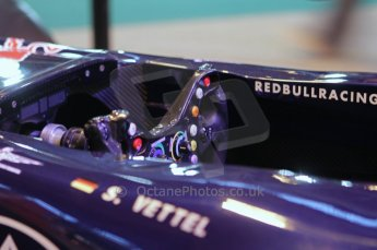 © Octane Photographic Ltd. 2012. Autosport International F1 Cars Old and New. Red Bull show car cockpit. Digital Ref : 0207lw7d2473
