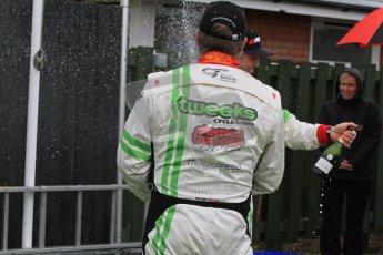 © 2012 Octane Photographic Ltd. Monday 9th April. Avon Tyres British GT Championship - Race Podium. Jon Minshaw & Tim Harvey. Digital Ref : 0288lw7d4467