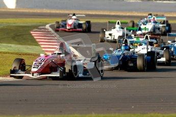 © Chris Enion/Octane Photographic Ltd 2012. Formula Renault BARC - Race. Silverstone - Saturday 6th October 2012. Kieran Vernon - Hillsport. Digital Reference: 0539ce7d9672