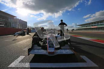 © Octane Photographic Ltd 2012. Formula Renault BARC - Race. Silverstone - Saturday 6th October 2012. Kieran Vernon - Hillsport. Digital Reference: 0539lw1d1969